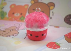 Kawaii Snowcone Cup Charm by puccilaand