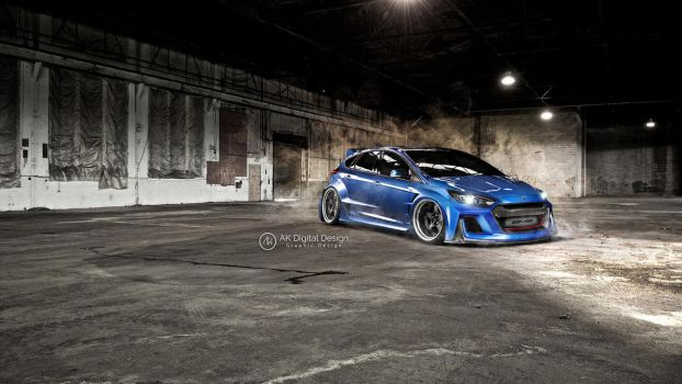 Ford Focus RS 2016 Modified by akdigitaldesigns