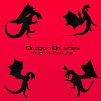 Dragon Brush Set by DarkFantasy69