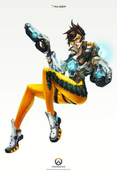 Overwatch - Tracer by MonoriRogue