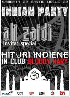 flyer Bloody Mary - Indian by semaca2005