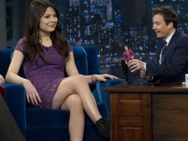 Interview with a Giantess - Miranda Cosgrove by misterwerder