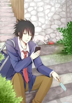 Sasuke: After School by Ellinot