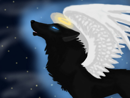 My Guardian Angel by Renwolf12