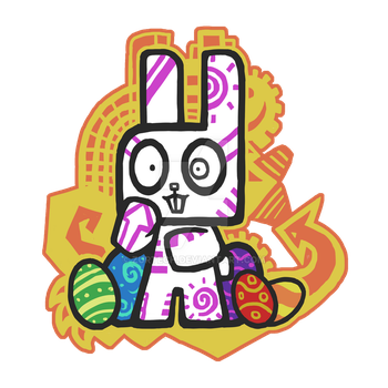 Easter Bunny by zurtech