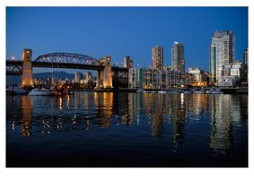 Vancouver skyline No. 2 by crazycroat
