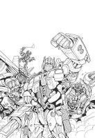 Predaking transformers coloring pages ~ Transformers Prime Predaking by MarceloMatere on DeviantArt
