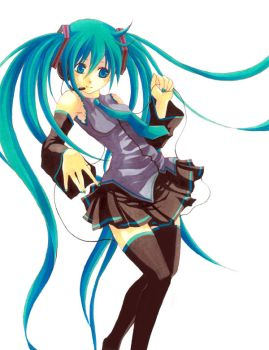 The Blue Siren.:MiKu:. by Swt-Team