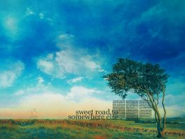sweet road to somewhere else by siobhanohare