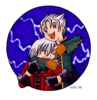 DMC - Brotherly Love Color by samanthawagner