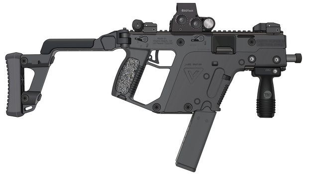 KRISS Vector SMG by ScarletLightning565