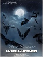 UNRESTRICTED - Bats Brushes by frozenstocks