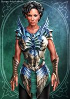 Elven Warrior by goatlord51