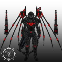 Req Ultimas Unrestrained  form armor by Hellmaster6492