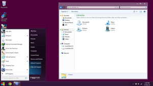 Windows 8 Preview Release for Windows 7 Custopack by afiqreza7