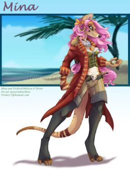 Pirate - Mad Mina and Pickles by frisket17