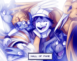 Welcome to the Hall of Fame by WindFlite
