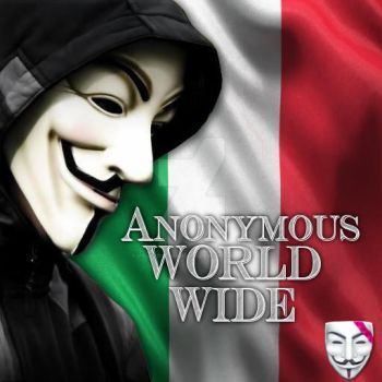 Anonymous world wide Italy by Valkyrie-Gaurdian