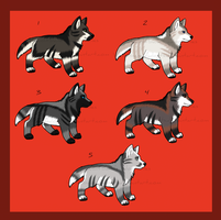 Adoption Page MIX 1 CLOSED by WolfbanesAdopts