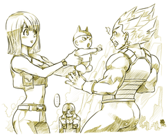 + Daddy Vegeta + by BoGilliam