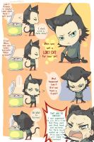 I've got myself a Loki cat by semokan