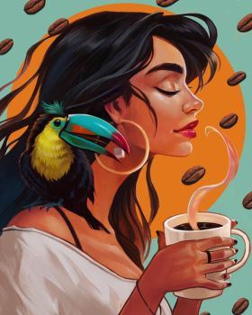 Every day is coffee day by BoFeng