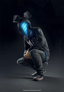 Defalt - Watch_Dogs by FreddyLolBear