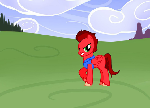 Red Comet pony creator v.3 by Srimbalo