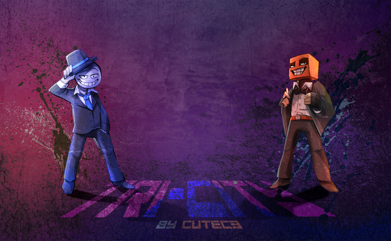 Tri-City Wallpaper - Suits by CuteC3