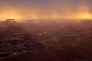Burning Storm by matthieu-parmentier