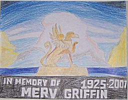 Merv Griffin Memorial by germanname