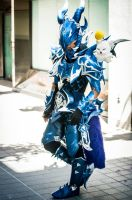 Final Fantasy 14 cosplay - FFXIV Dragoon cosplay by JuicyAndWet