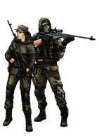 BF4 RU Recon class (color) by ThomChen114