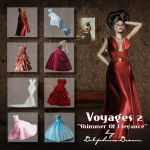 Voyages 2-Shimmer of Elegance by Dolphins-Dream