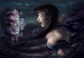 Grasp of Darkness by chitobein