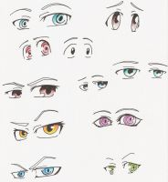 Manga Eyes by SammYJD