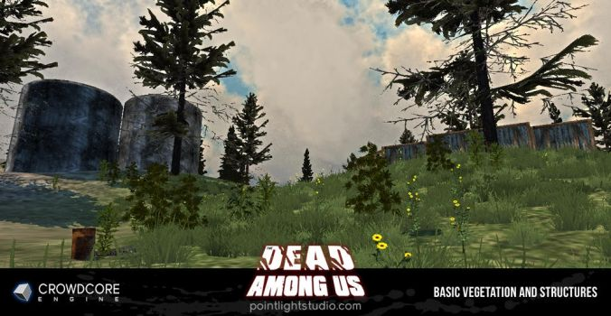 The Dead Among Us - Vegetation and Structures by RasterRon