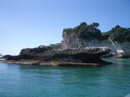 Ship of rock by CAStock