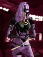 ME Teammembers: Tali 2 by Striped-Stocking