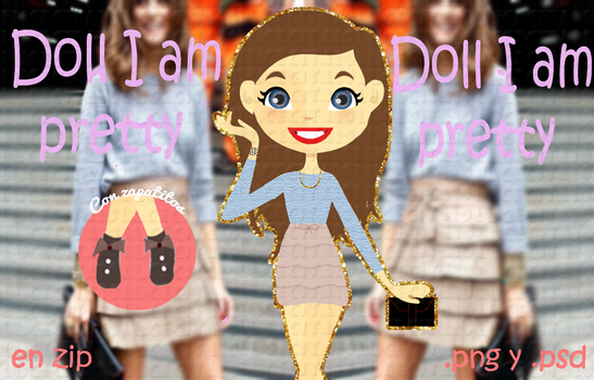 Doll I am Pretty by lucecita20
