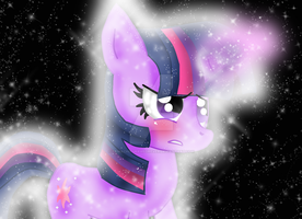 Twilight Sparkle de practica by tuwachiturraforever