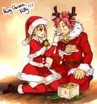 Mr. And Mrs. Claus by blanania