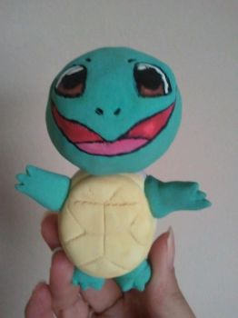 Squirtle bobblehead by MadSciPanda
