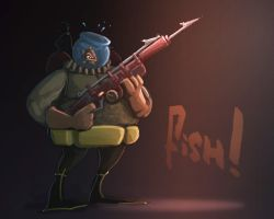 Speed Painting 2 - Fish! by ARCallejas