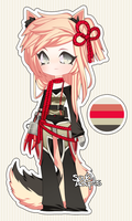 pale pink clawed adoptable - CLOSED by SoukiAdopts