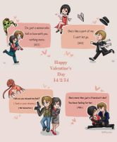 Valentine's Day by BlacknessAffection