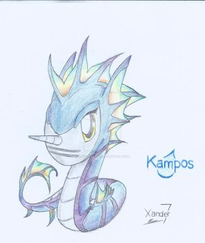 Kampos (Mighty Monsters) by xander64lmh