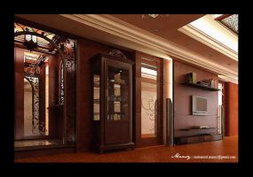 Flat Interior Design by mohamedmansy