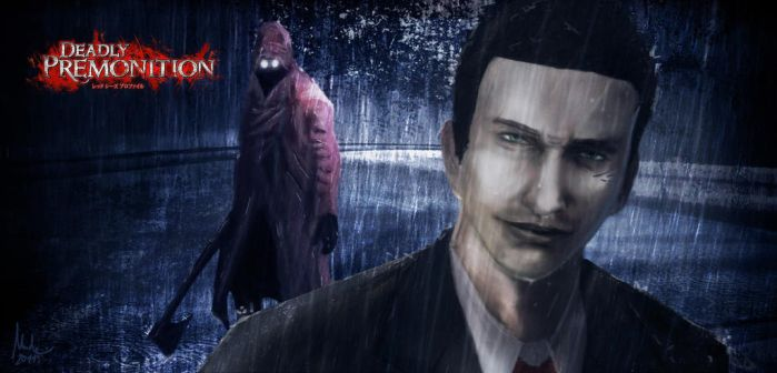 Digital Painting - Deadly Premonition by m-e-n-n-e