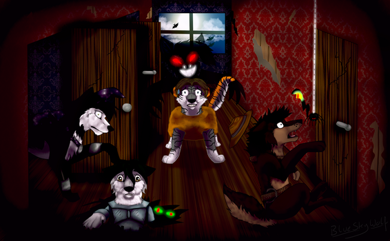 ::CM:: Welcome to the house of nightmares by BlueSkyWolf